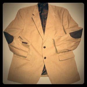 Ralph Lauren pristine corduroy blazer elbow patch